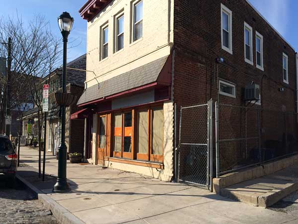 Former Wine Thief at 7152 Germantown Ave. will become Cresheim Valley Grain Exchange.