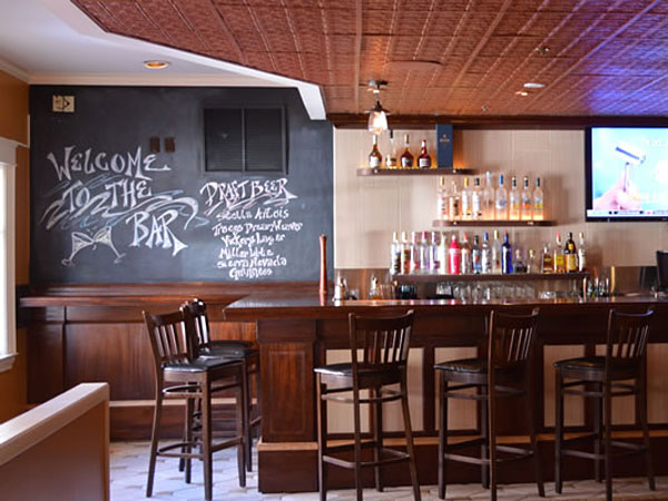 New bar at what will become Avalon, 116 E. Gay St., West Chester.
