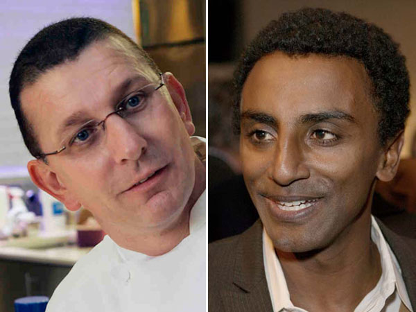 Robert Irvine, left, and Marcus Samuelsson are the headliners of the Caesars Entertainment 6th Annual Atlantic City Food & Wine Festival.