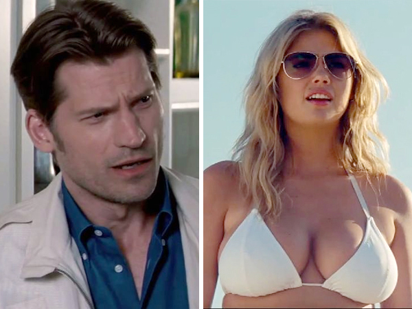 Supermodel Kate Upton&acute;s spanking scene in her new film &quot;The Other Woman&quot; was cut - because she didn&acute;t like the idea of having to beat her &quot;Game of Thrones&quot; co-star Nikolaj Coster-Waldau on camera.<br /><br />