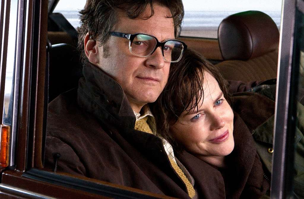 """Colin Firth and Nicole Kidman star in """"The Railway Man,"""" taken from a book by Eric Lomax."""