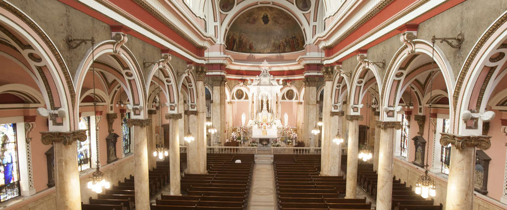St. Rita of Cascia Church in South Philadelphia is a pilgrimage site that attracts enough people to warrant holding two daily Masses.