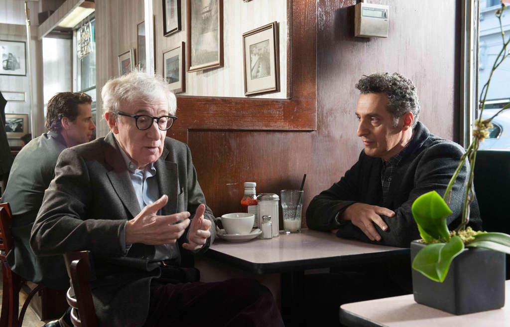 Director John Turturro (right) stars with Woody Allen.