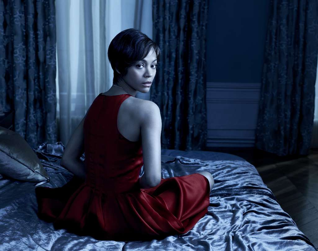 """In NBC´s remake of """"Rosemary´s Baby,"""" Zoe Saldana is Rosemary, the role played by Mia Farrow in the 1968 film. Saldana gives a captivating performance as the unwitting host."""