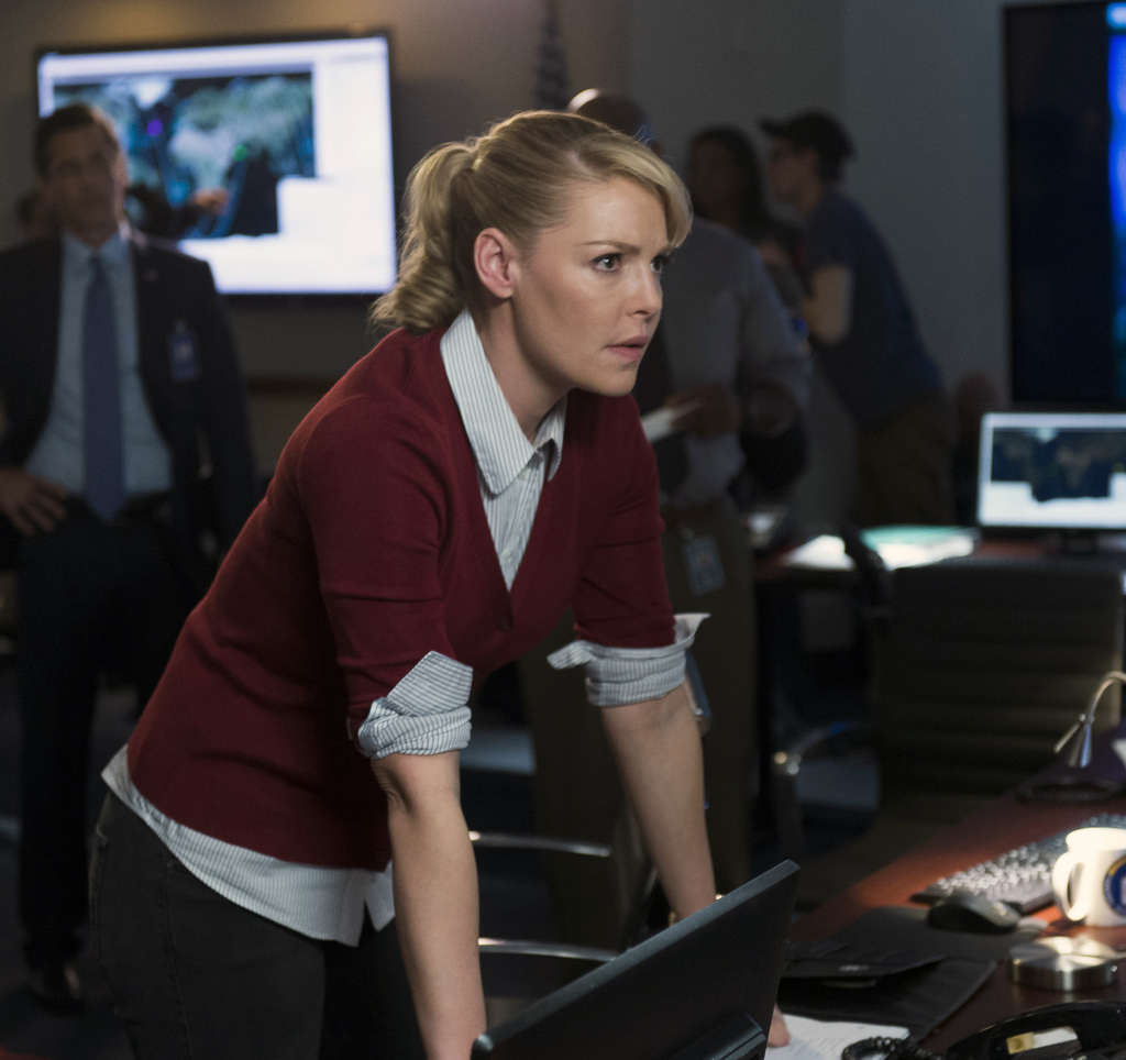 """Katherine Heigl portrays CIA agent Charleston Tucker in a new series, """"State of Affairs."""""""
