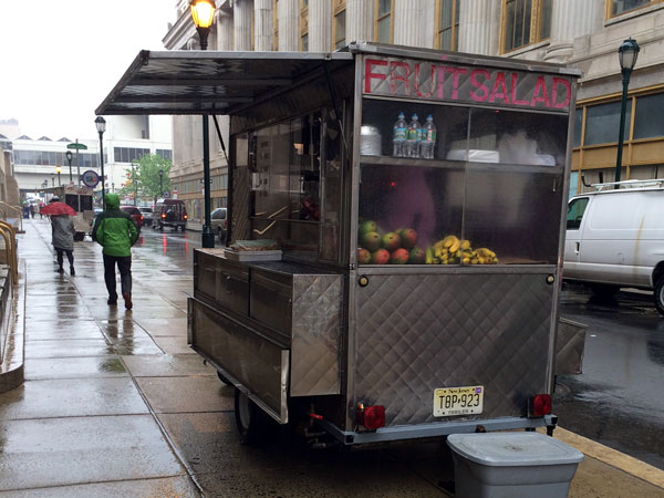 The city will offer 39 Center City vending spots in a lottery.