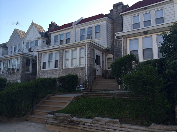 Police say 70-year-old Mamie Chess was beaten by her 15-year-old foster son in this home on Daggett Street near Girard Avenue in West Philly.
