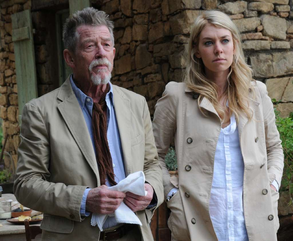 "Digging up the past: John Hurt and Vanessa Kirby are embroiled in a mystery from 13th-century France in the challenging four-hour miniseries ""Labyrinth."""
