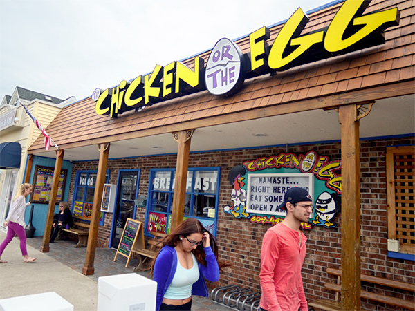 The Chicken or the Egg in Beach Haven, NJ
