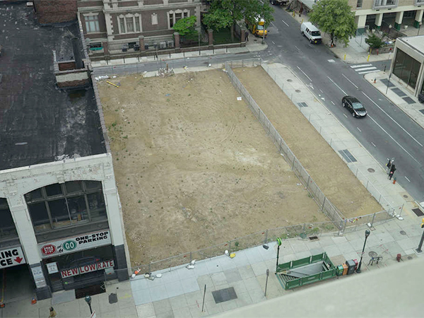 "The site of last year´s collapse, at the southeast corner of 22d and Market Streets, is to become a memorial park. The Pennsylvania Horticultural Society is developing ""a space that would be contemplative and offer solitude in a very busy intersection."""