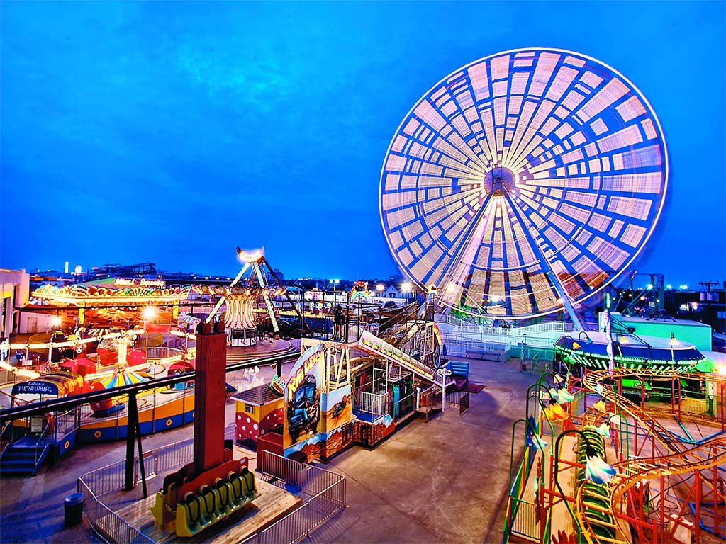 A Carnival Of Jersey Shore Amusement Rides Philly
