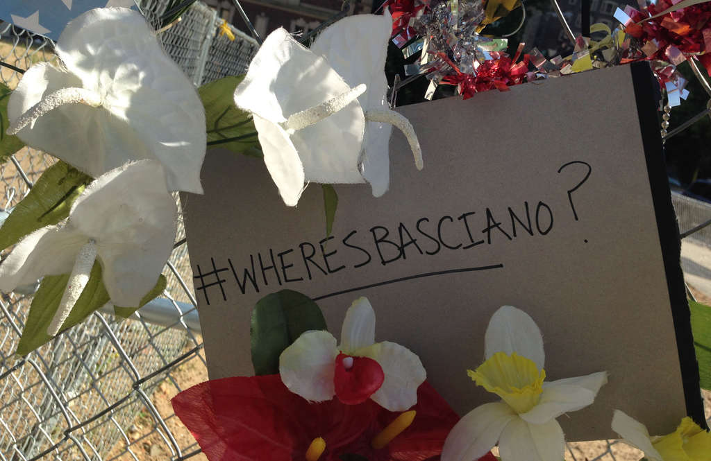 HELEN UBIÑAS / DAILY NEWS STAFF Richard Basciano seems to have done the #PhillyShrug on last year´s collapse of a building he owned that killed six and injured 13 more. Maybe it´s time we started asking #WheresBasciano?