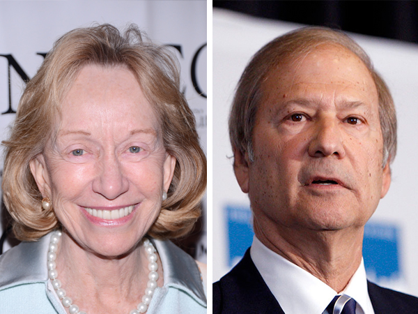 The historian Doris Kearns Goodwin (left) recalls the last day of Inquirer co-owner Lewis Katz, her friend of 20 years who she describes as improbably boyish and blessed with the timing of a Catskills comic.