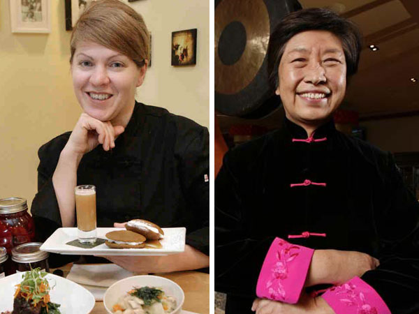 Anne Coll, left, has rejoined Susanna Foo in Radnor. (Staff photographs)