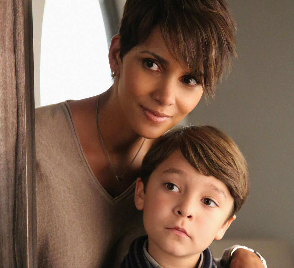 Halle Berry, with Pierce Gagnon, is trying to reconnect with her family after 13 months in space.