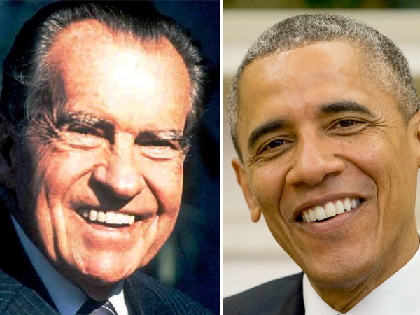 Next month marks four decades since Nixon´s resignation, but that´s apparently an insufficient time to elapse for President No. 44 to reference No. 37 by name.