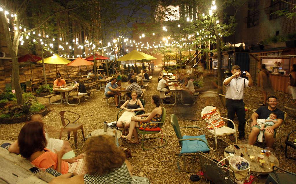 The Battle Over Pop Up Beer Gardens