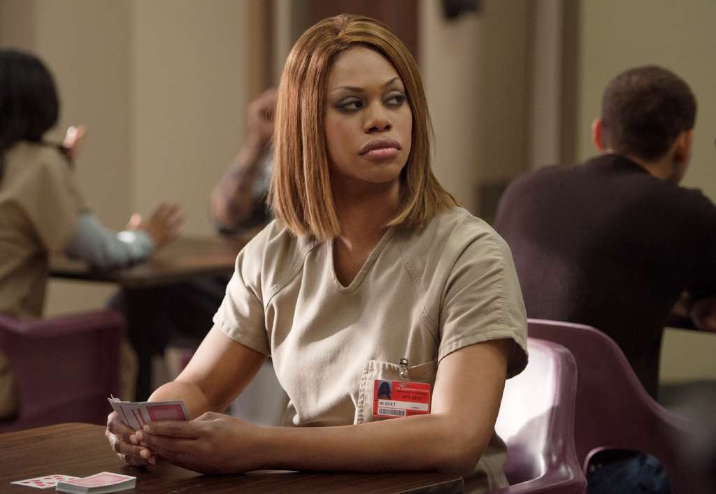 "Laverne Cox, ""the first openly transgender"" performer to receive an Emmy nomination."