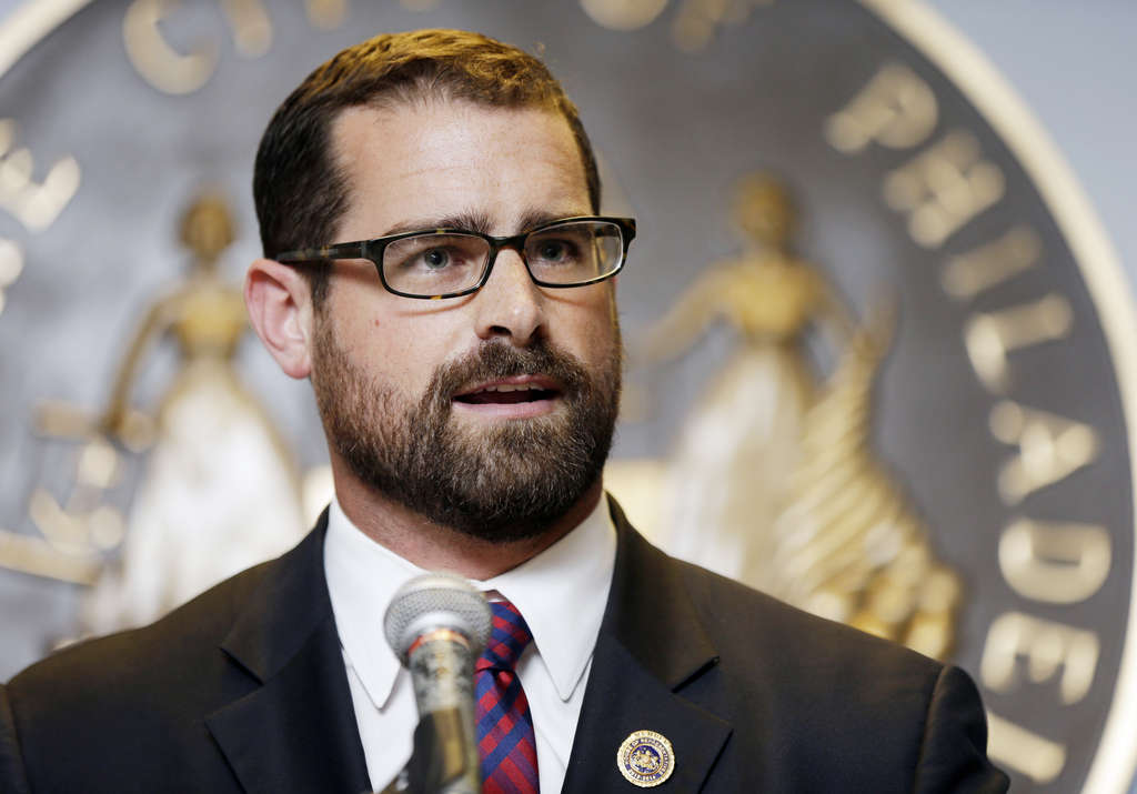 """MATT ROURKE / ASSOCIATED PRESS Philly Democratic Rep. Brian Sims is one of the state´s lawmakers not enrolled to receive a pension through his work in the Legislature. """"That´s not why I ran,"""" he said."""