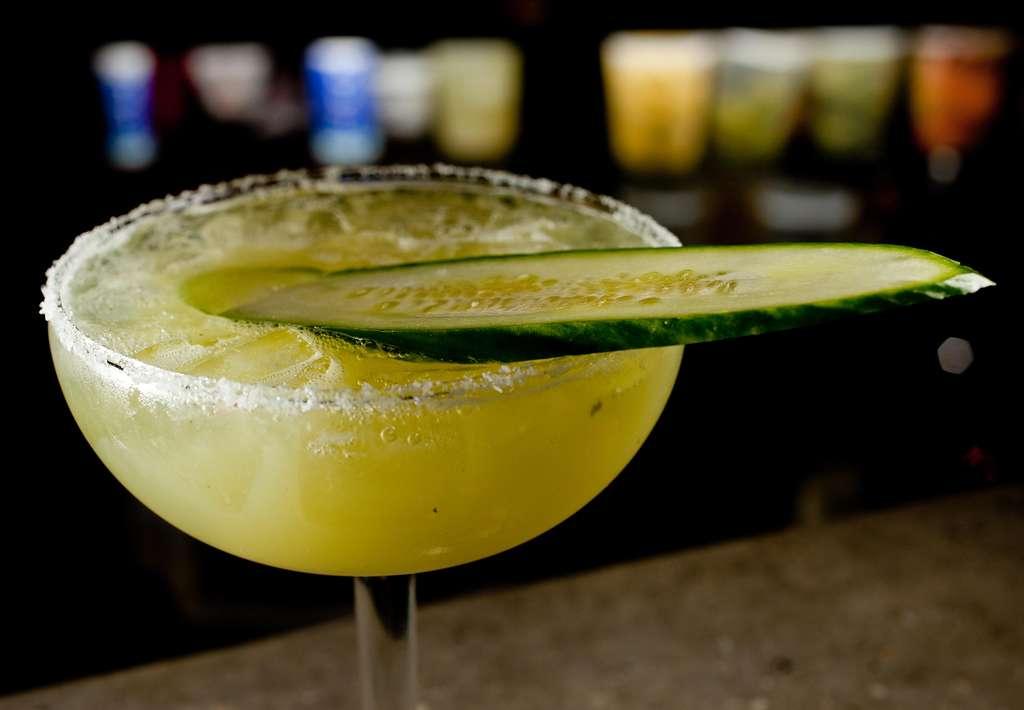 Cucumber-jalapeño margarita at Lolita.
