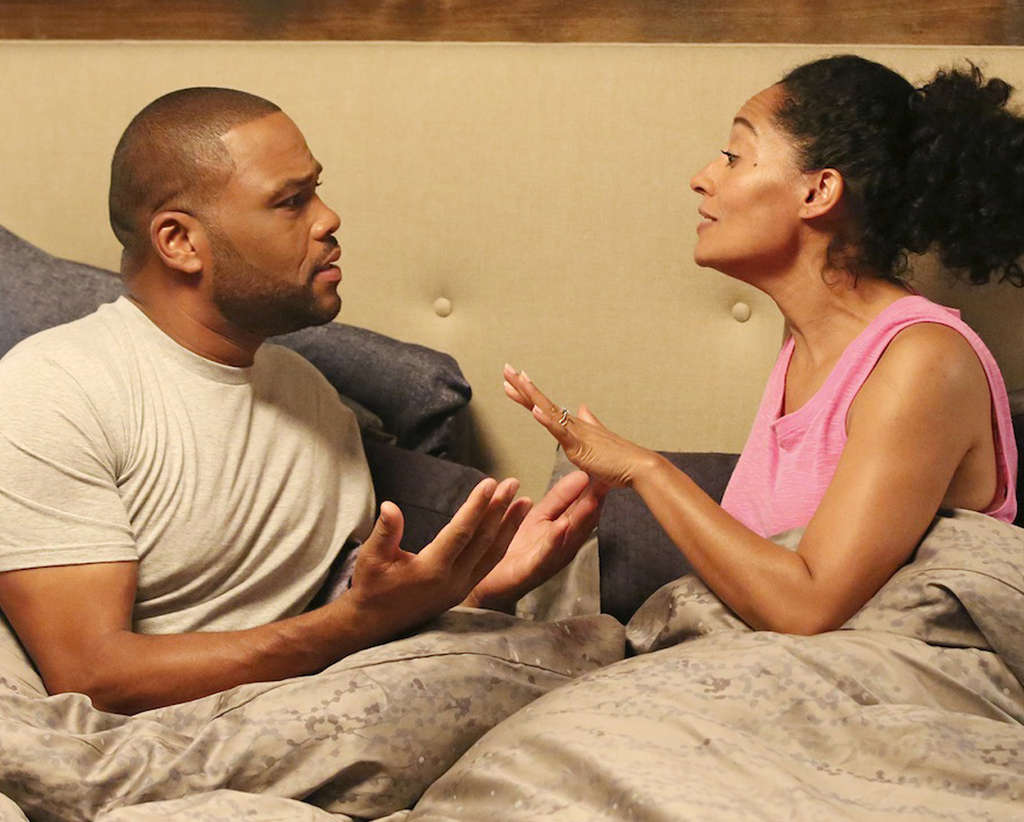 """Black-ish"" featuring Anthony Anderson and Tracee Ellis Ross."