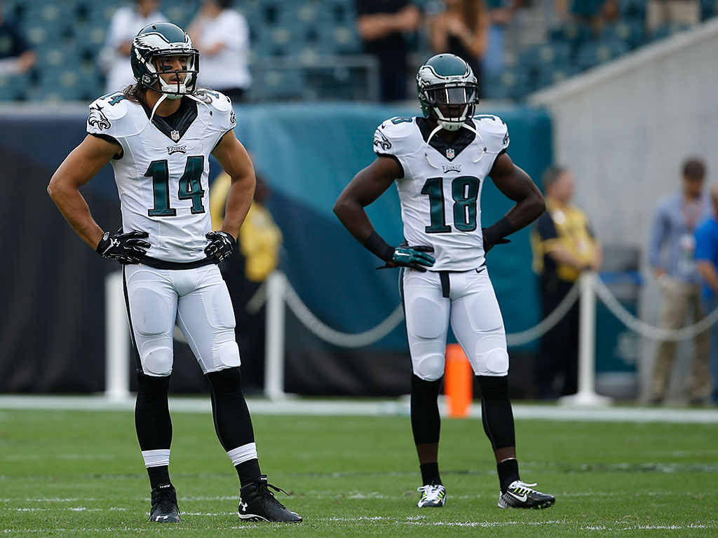 riley cooper talks about his decreasing playing time philly