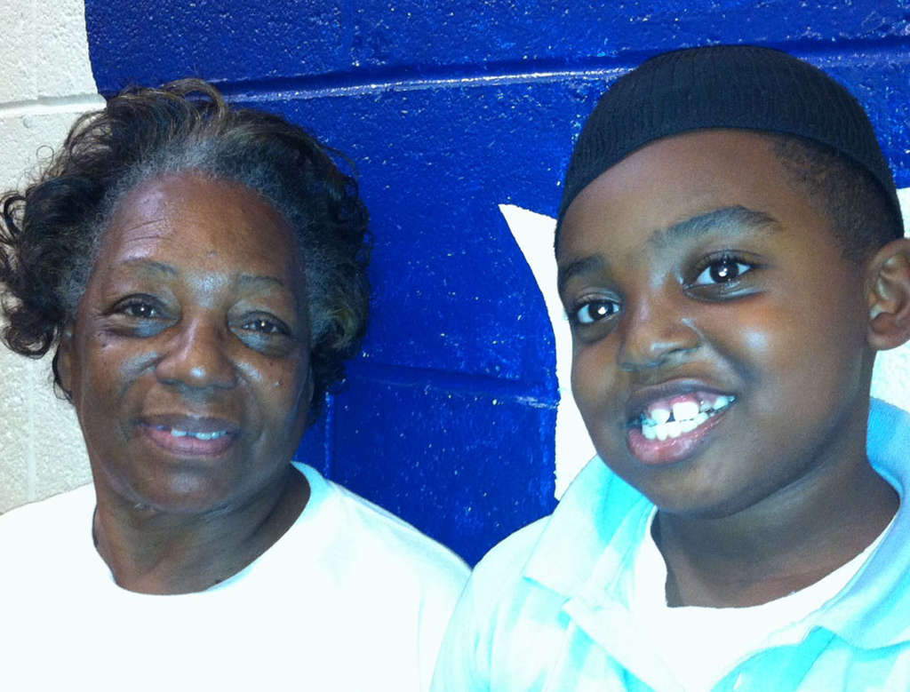 RONNIE POLANECZKY / DAILY NEWS STAFF Gwen Pittman and grandson, Nate, want guns out of sight.