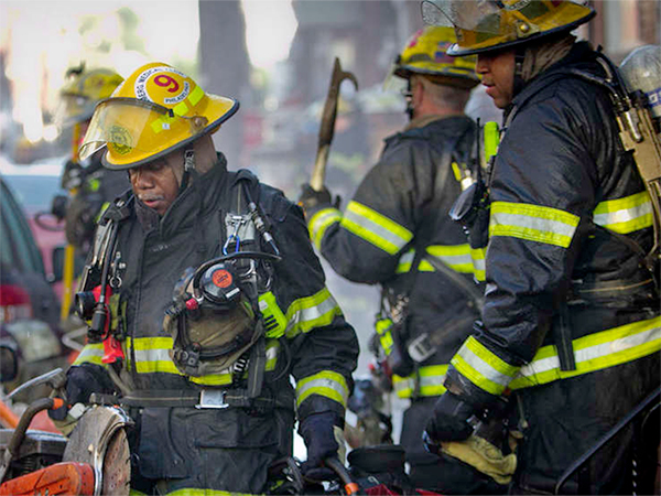 Philadelphia firefighter dies after he's trapped inside home for 30 minutes