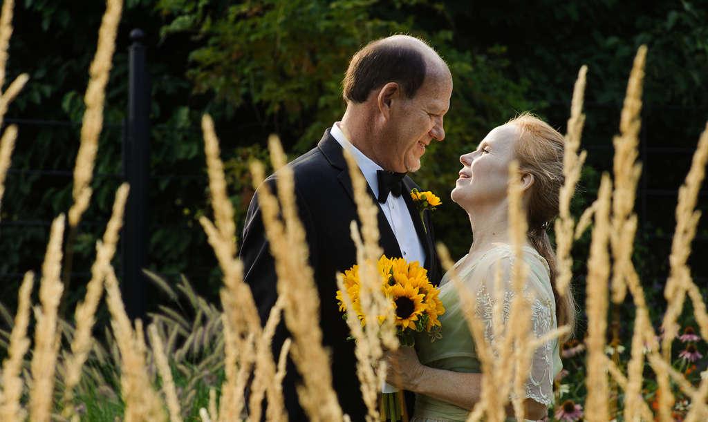 Douglas Smith and Dierdre McKee were married at Morris Arboretum in August.