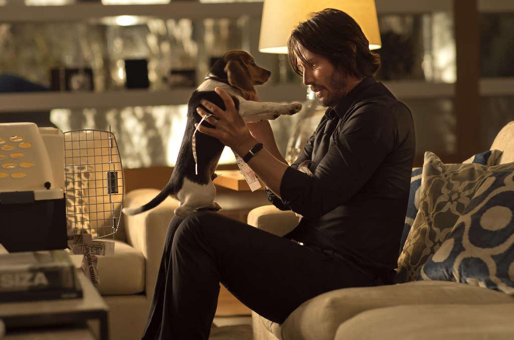 "Keanu Reeves has the title role in ""John Wick,"" a revenge saga."