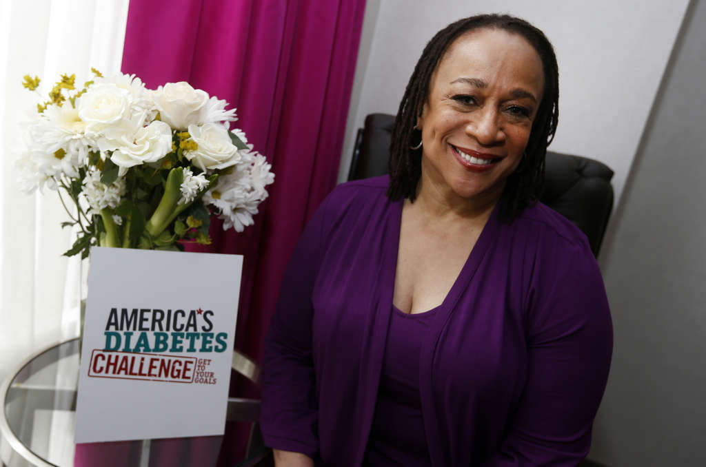 JASON DECROW / ASSOCIATED PRESS S. Epatha Merkerson , who has Type 2 diabetes, will be in town Saturday for the American Diabetes Association´s Step Out Walk.