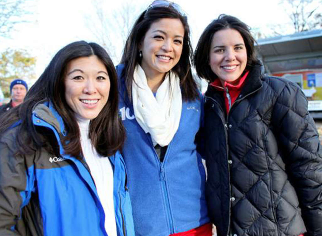 "These three have two things in common: They are all on-air personalities (from left): 6ABC´s Nydia Han, NBC10´s Denise Nakano and CBS3´s Kate Bilo - and all lost their mothers to lung cancer; thus, their participation in yesterday´s ""Free to Breathe"" 5K Run/Walk."