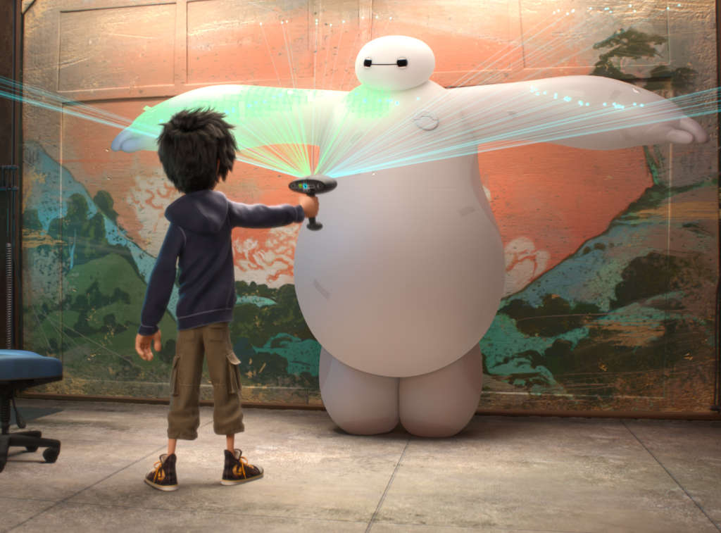 """This might hurt: In """"Big Hero 6"""" a cuddly robot is weaponized by his boy-genius owner."""