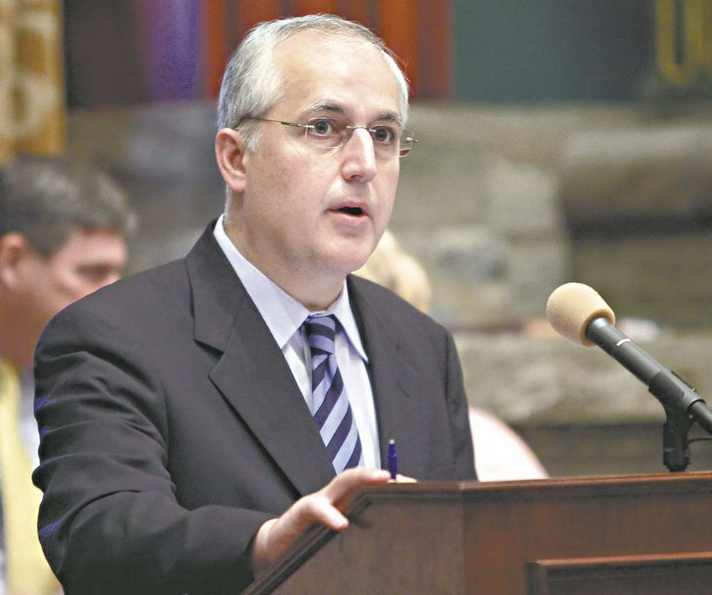 CAROLYN KASTER / ASSOCIATED PRESS Former Senate Majority Leader Dominic Pileggi loses his position as his party in Harrisburg moves to the right after the election.
