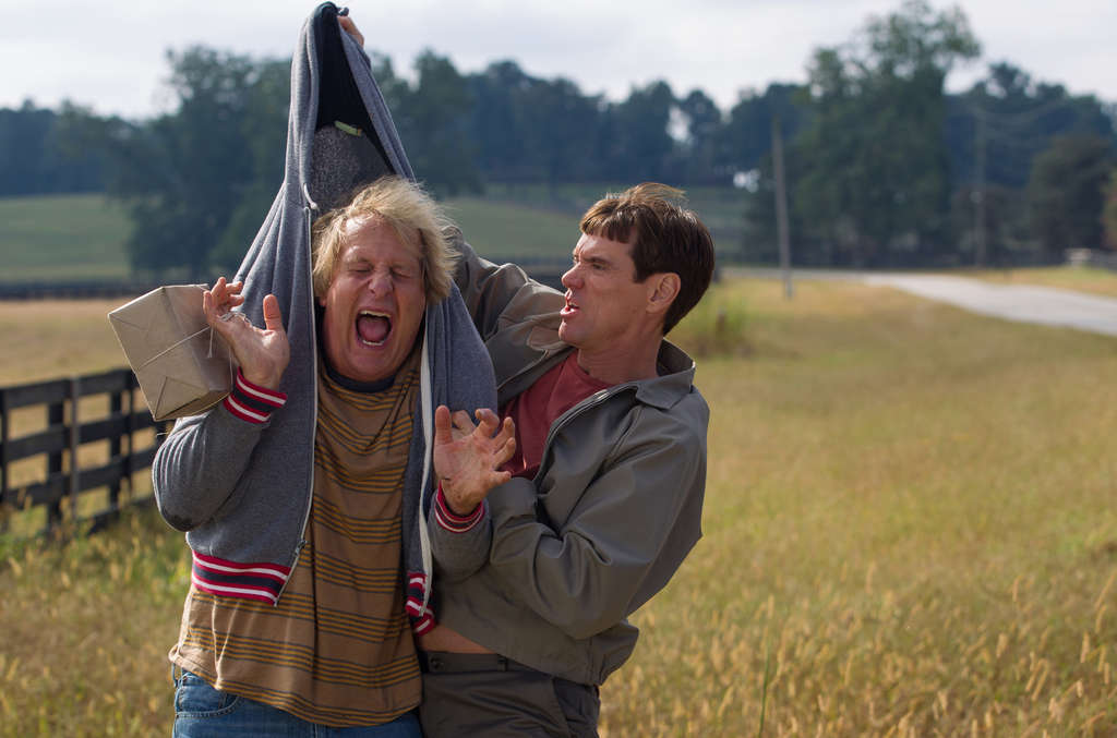 "Jeff Daniels and Jim Carrey in ""Dumb and Dumber To."" There´s a cameo from Mama June. And that´s a highlight."