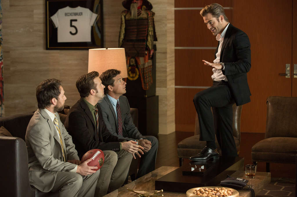 "In ""Horrible Bosses 2"" (from left), Charlie Day, Jason Sudeikis, Jason Bateman, and Chris Pine."