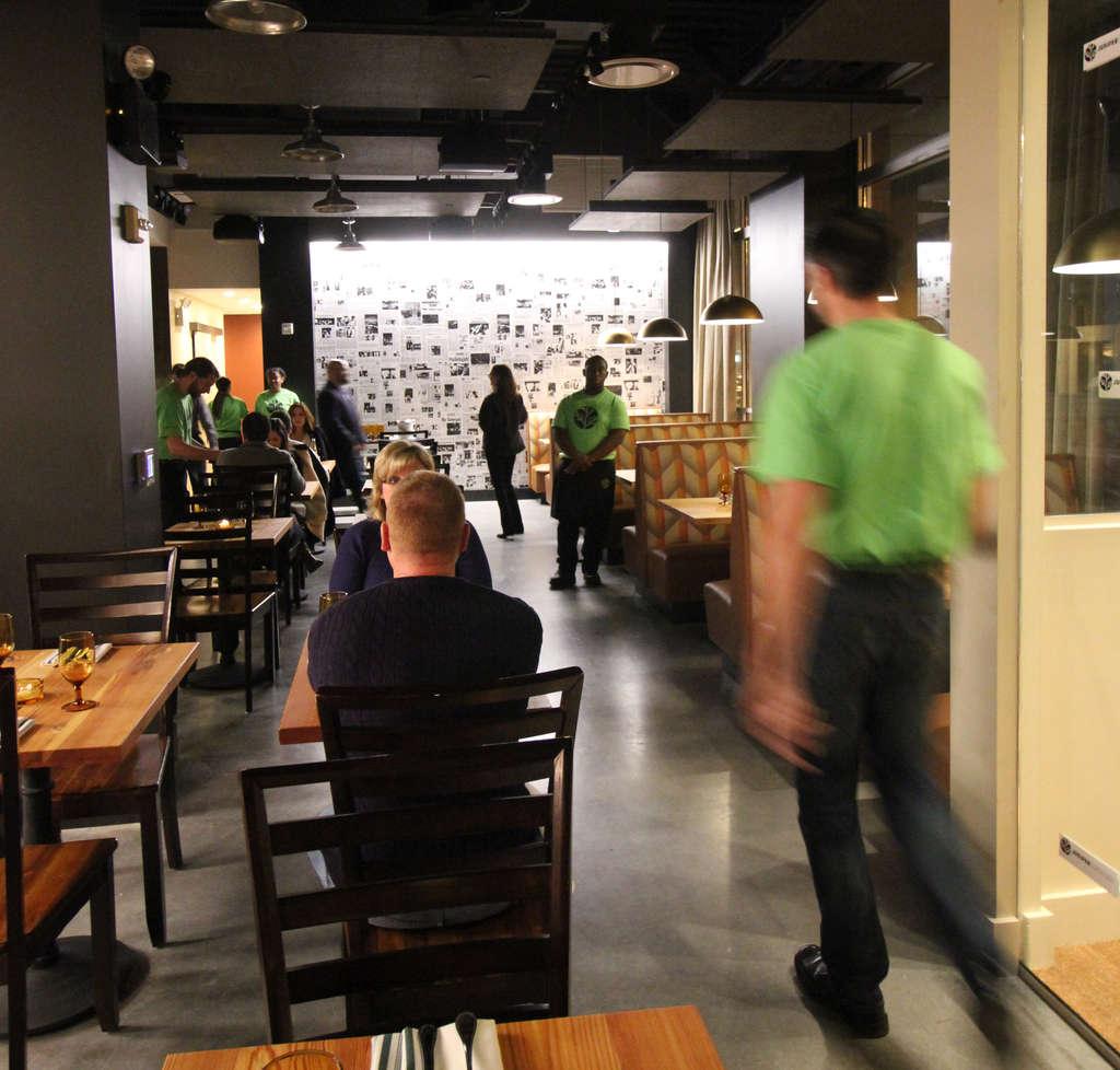 Juniper Commons offers a menu of big-portioned American fare.