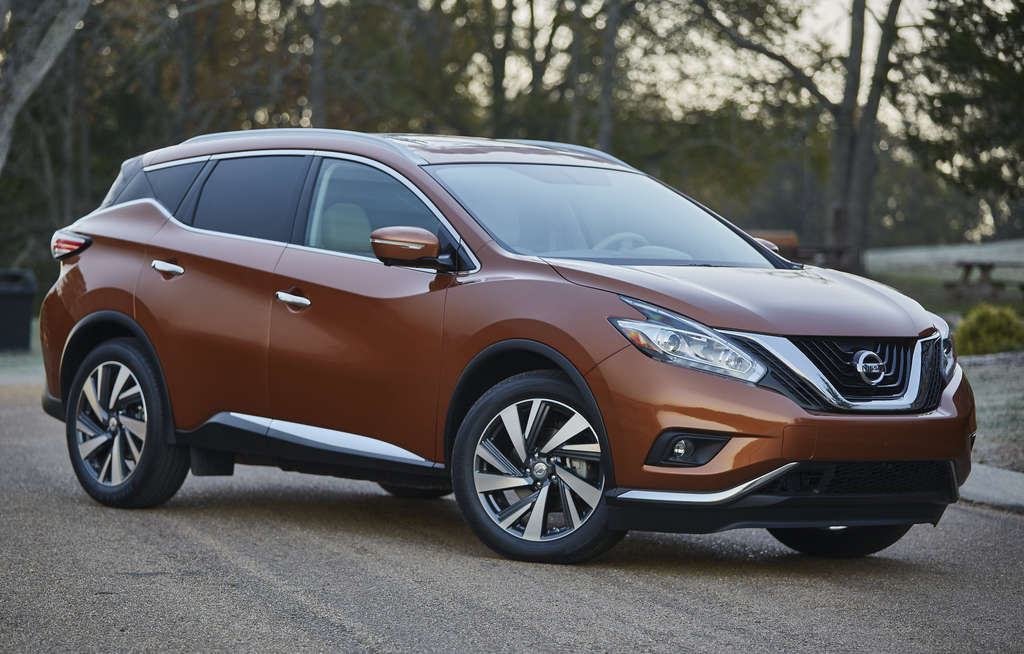 Among notable design elements of the Nissan Murano are the quarter-panel sharks fins.