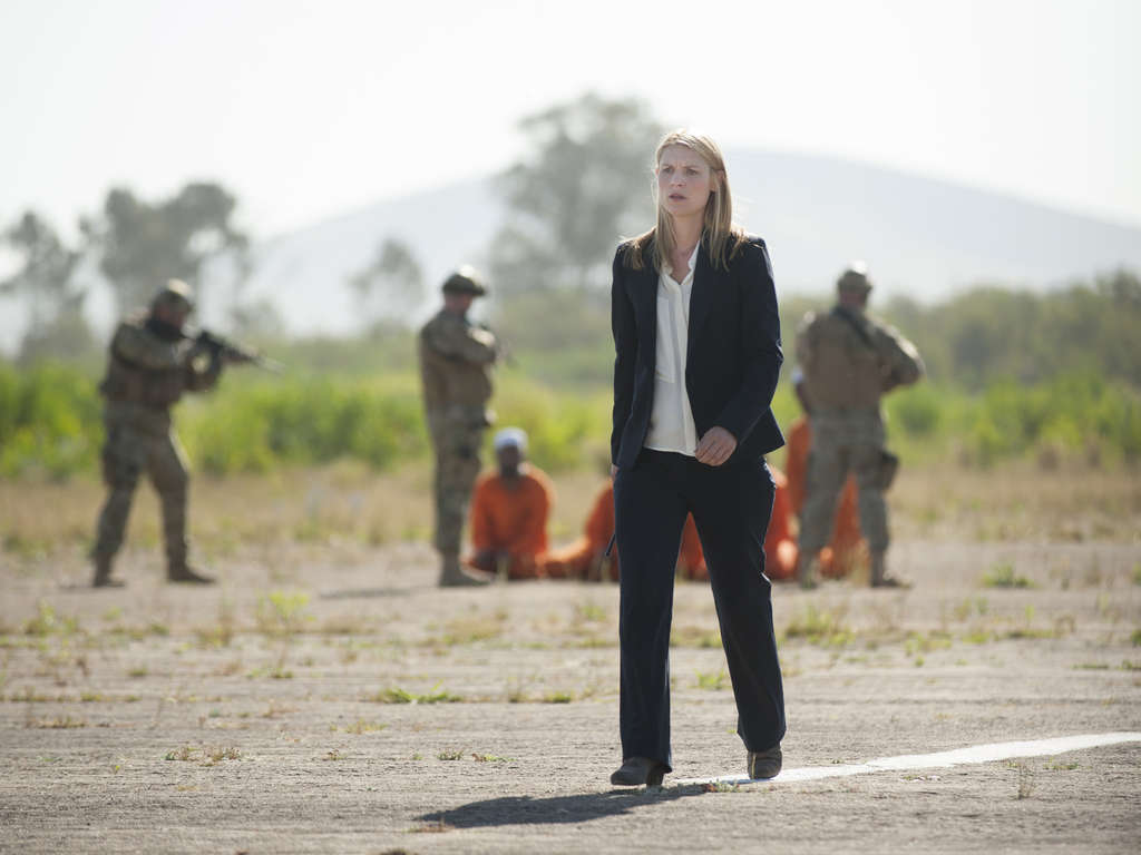 "Claire Danes as Carrie Mathison in Showtime´s ""Homeland."""