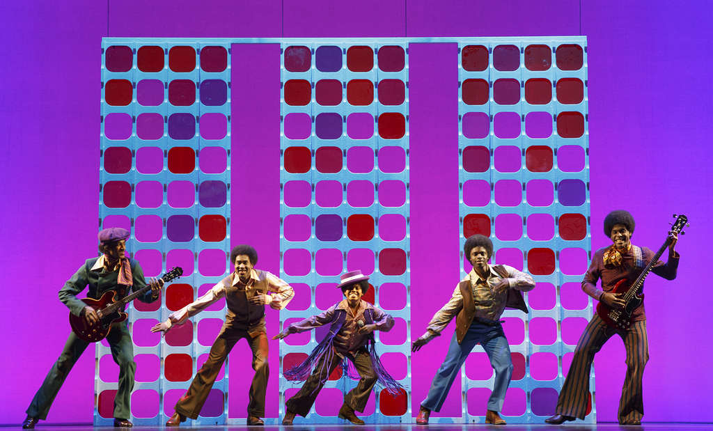 """The Jackson Five are among the superstar acts portrayed in """"Motown the Musical,"""" opening Tuesday at the Academy of Music."""