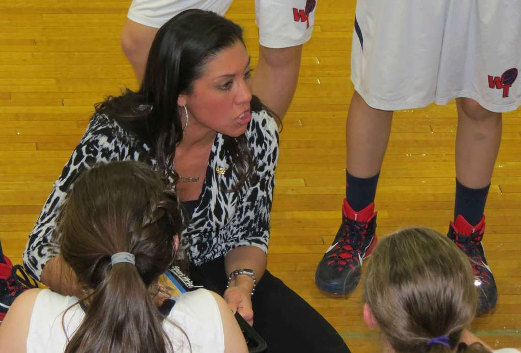 Coach Jenn Natale has just one senior and one returning starter, but her Washington Twp. girls have battled to a 7-3 record thus far. She told her players that tradition never graduates. MARC NARDUCCI / Staff