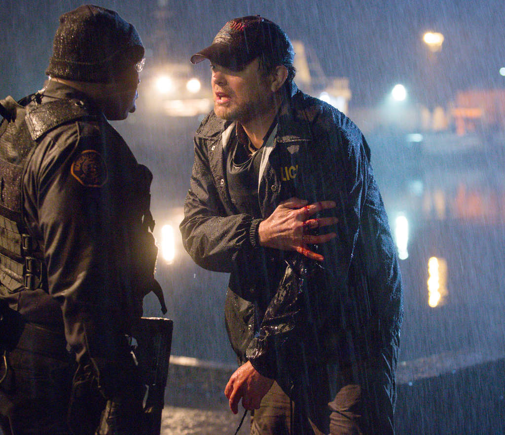"""Rainn Wilson (right), with Paige Kennedy, plays the new head of a special crimes unit in Portland, Ore., in """"Backstrom."""" Viewers will remember Wilson from """"The Office,"""" but it is the supporting cast that pops."""