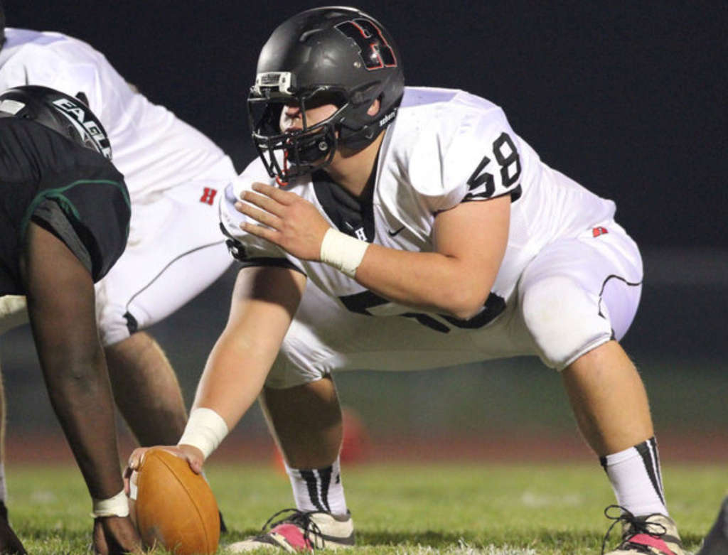 Haddonfield center Nick Rollo suffered a season-ending foot injury Oct. 2. But he remained a presence, working with the team´s younger players.