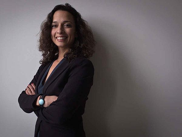 Yasmine Mustafa´s company designs self-defense devices that can be worn as jewelry. ALEJANDRO A. ALVAREZ / STAFF PHOTOGRAPHER