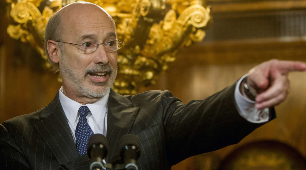 MARK PYNES / ASSOCIATED PRESS Gov. Wolf says his new office will save the state money. We can only pray that he´s right.