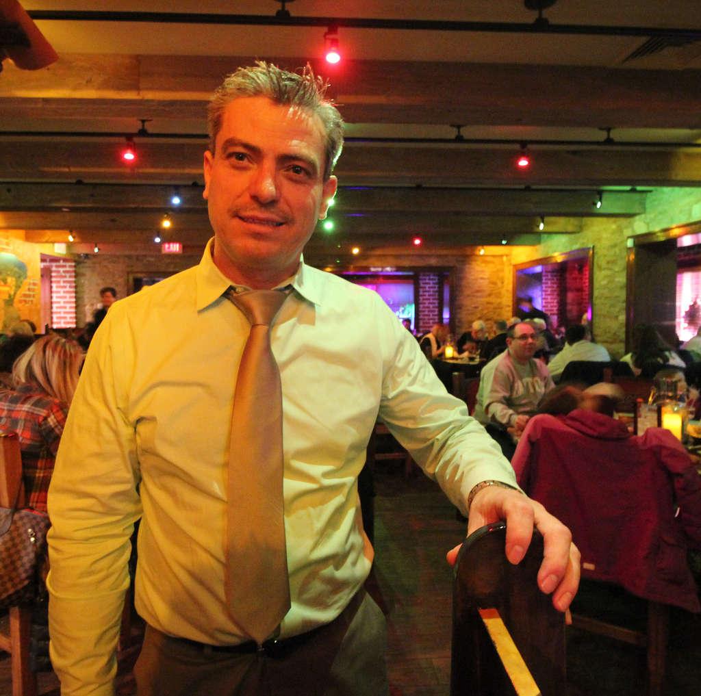 Co-owner Victor Perez at Señor Salsa, Abington.