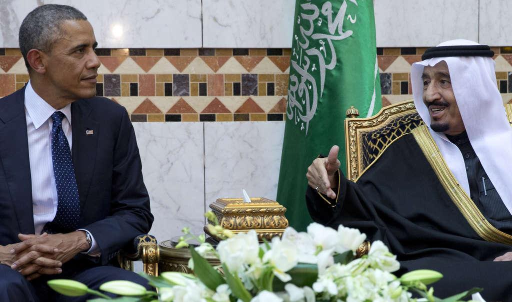 President Obama met with Saudi King Salman bin Abdul Aziz in January. CAROLYN KASTER / Associated Press