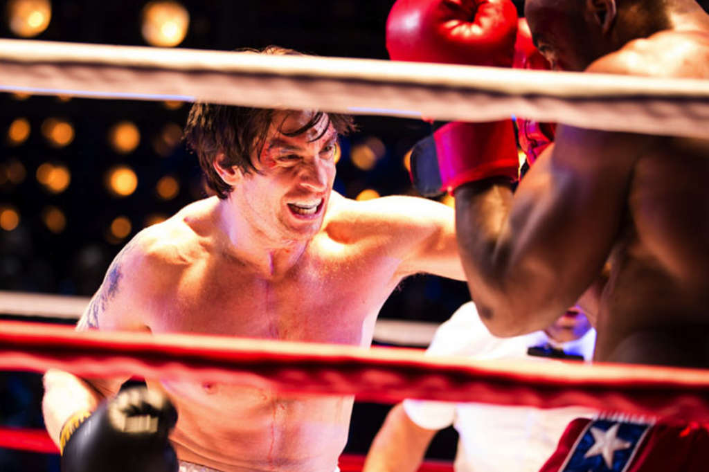 The stirring Rocky/Apollo Creed fight finale was a staging tour de force of the musical - and could be a big draw here all year.