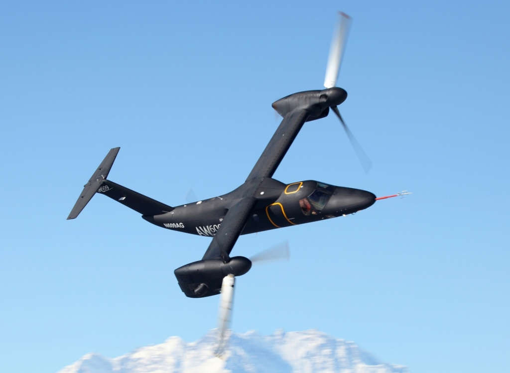 AgustaWestland will build the new AW609 civilian tilt-rotor aircraft at its factory in the Northeast.