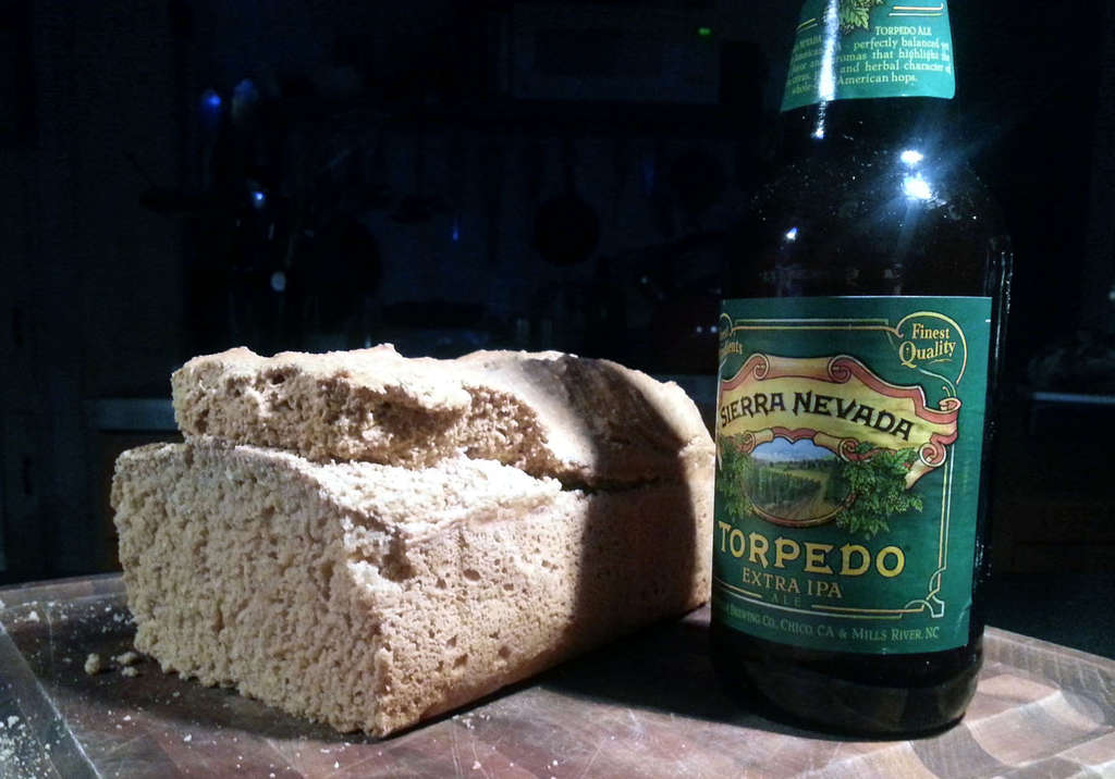 Bread and beer share many of the same ingredients, so it isn´t an odd idea to make bread with beer as a key component.